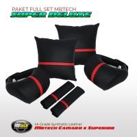 Bantal Mobil Set Komplit Sepasang - SUPER DELUXE