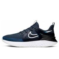 Sepatu Lari Nike Legend React 2 Blue Original AT1368-401