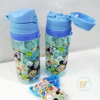 Botol Minum Tsum Tsum Medium Blue Tempat Bekal Air Anak Hadiah Kado Ok