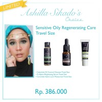 Ashilla Sikado's Choice: Sensitive Oily Regenerating Care Travel