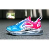 Sepatu Nike Air Max 720 Pink Sea Blue Premium Original Wanita