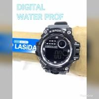 Jam tangan pria LASIDA RUBBER ANTI AIR S708
