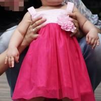 baju pesta dress anak Bayi balita perempuan lucu cantik