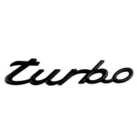 Exterior Accessories Metal Turbo Car Stickers For Porsche Original