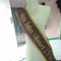 Promo Selempang Wisuda Bludru - Hijau Tbk