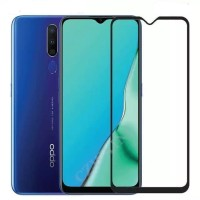 OPPO A9 2020 / A5 2020 TEMPERED GLASS 9D FULL SCREEN ANTI GORES KACA