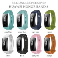 Tali Jam HUAWEI HONOR BAND 3 Silicone Sport Strap Band with Tools