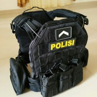 rompi blackmamba waterproof - bodyvest tactical - rompi anti peluru
