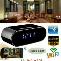 Spy Camera Model Jam meja Kamera pengintai WIFI P2P Real Time Original