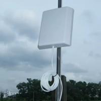 Antena Panel Penguat Sinyal 2G 3G 4G 900 1800 2100 2300Mhz Wifi 2,4