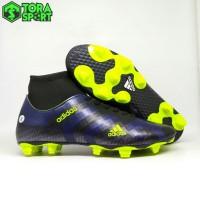 Sepatu Bola Dewasa Adidas Boot Hitam Navy Size 39 - 43 Grade Original