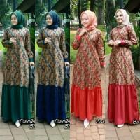 Baju Batik Wanita/Gamis Wanita/Gamis Batik/seragam keluarga GM - 149