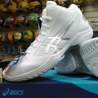 SALE !!! ASICS GEL HOOP V10 MT - WHITE SERIES   Sepatu Voli Original