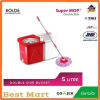 Alat Pel Lantai Bolde Super Mop Double Side