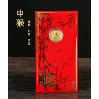 Angpao Emas HK 24 K Zodiak Shio