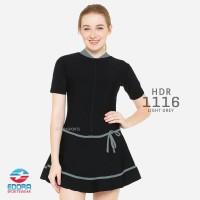 Baju Renang Rok Wanita Jumbo Size 6XL 7XL 8XL | Big Size Edora Sport