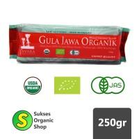 Organic Coconut Sugar/Gula Jawa Organik   Javara   250gr