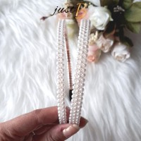 [READY] Bando Korea Mutiara Fancy Simple Pearls 2 Variasi H037-3