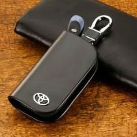 Aksesoris mobil Dompet stnk kulit gantungan kunci Avanza