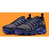 Sepatu Nike Air Vapormax Plus Gradient Blue Orange Premium Original