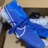 sepatu Bola Nike Mercurial Superfly VI Elite 360 CR7 Blue FG