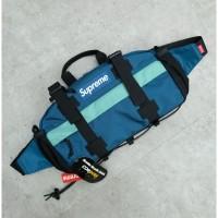 Supreme FW19 Waist Bag Dark Teal 100% Authentic