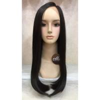 wig rambut palsu wanita fiber Lace FB1777A3 HITAM