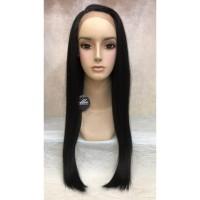 wig rambut palsu wanita fiber Lace FB16030A3 HITAM