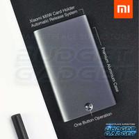 Xiaomi MIIIW Dompet Kartu Premium Card Holder Case Automatic Aluminium