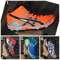 Asics gel forza premium sepatu voli badminton tenis basket