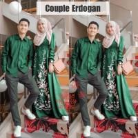 baju couple pria wanita batik kemeja gamis pernikahan keluarga