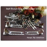 Bahan Jepit Rambut JPB-09 : Jepit Buaya 2 Jari 5 cm (per lusin)