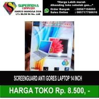 Screen Guard Antigores Laptop 14 Inch Murah