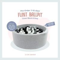 ballpit kolam bola sponge spon anak bayi main mandi bola putih hitam