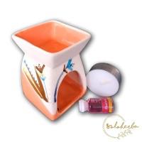 Paket Tungku Aromaterapi Mini A / Tungku Keramik Aroma terapi bakar