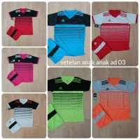 Baju Kaos Setelan Olahraga Anak Jersey Futsal Voli