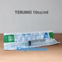 Terumo Syringe 10cc Spuit 10ml + Needle
