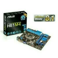 MOTHERBOARD ASUS H61M-K SOCKET 1155 DDR3 BOX