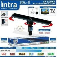 ANTENA TV INT 1000 DGT LUAR DALAM DIGITAL ANALOG REMOT DENGAN BOOSTER