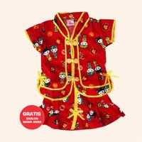 Baju Anak Setelan Model Cina Motif Mandarin Kaos Perempuan Murah