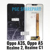 Original OEM LCD Touchscreen Oppo A3S - Oppo A5 - Realme 2 - Realme C1