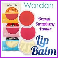 TERLARIS Wardah Lip Balm Orange Strawberry Vanilla