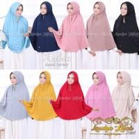 Jilbab Khimar Syarii Laudya Hijab Original Azkia Jersey Ecer/Grosir