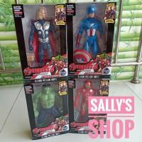 Mainan anak Boneka Figure Marvel Superhero Avenger