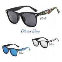Ternama Kacamata Hitam Anak Bape Bathing Ape Import Kids Sunglasses