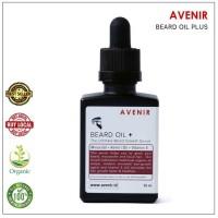 TERLARIS Avenir Beard Oil + (Minoxidil & Vit E). Penumbuh brewok