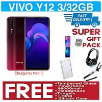 VIVO Y12 Ram 3GB 32GB Garansi Resmi VIVO INDONESIA