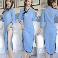 Lingerie murah sexi baju tidur wanita D0510BE