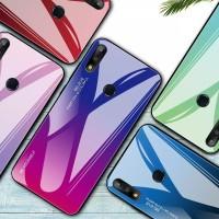 Gradient Glass Case Asus Zenfone Max Pro M2 ZB631KL Phone Case Casing