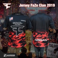 Jersey Team FaZe Clan 2019 - Premium Gaming Team Apparel